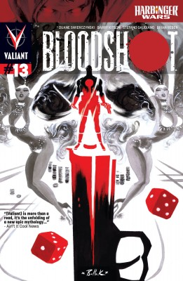 Bloodshot (2012) Issue 13 by Duane Swierczynski from Trajectory, Inc. in Comics category