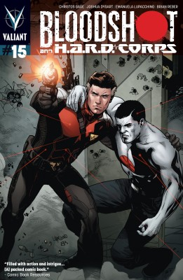 Bloodshot and H.A.R.D. Corps Issue 15 by Christos Gage from Trajectory, Inc. in Comics category