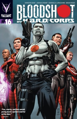 Bloodshot and H.A.R.D. Corps Issue 16 by Christos Gage from Trajectory, Inc. in Comics category
