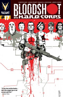 Bloodshot and H.A.R.D. Corps Issue 17 by Christos Gage from Trajectory, Inc. in Comics category