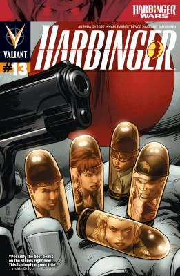 Harbinger (2012) Issue 13 by Joshua Dysart from Trajectory, Inc. in Comics category
