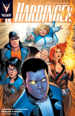Harbinger (2012) Issue 15 by Joshua Dysart from Trajectory, Inc. in Comics category