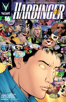 Harbinger (2012) Issue 16 by Joshua Dysart from Trajectory, Inc. in Comics category