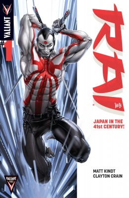 Rai (2014) Issue 1 by Matt Kindt from Trajectory, Inc. in Comics category