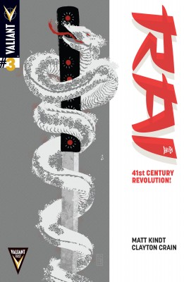Rai (2014) Issue 3 by Matt Kindt from Trajectory, Inc. in Comics category