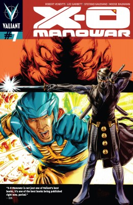 X-O Manowar (2012) Issue 7 by Robert Venditti from Trajectory, Inc. in Comics category