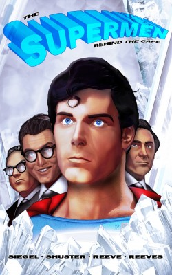 Tribute: The Supermen Behind the Cape: Christopher Reeve, George Reeves Jerry Siegel and Joe Shuster Vol.1 # GN by M.Anthony Gerardo from Trajectory, Inc. in Autobiography & Biography category