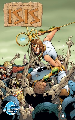 Legend of Isis Vol.1 # 4 by Darren G. Davis from Trajectory, Inc. in Comics category