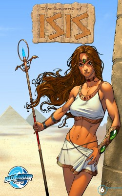 Legend of Isis Vol.1 # 6 by Darren G. Davis from Trajectory, Inc. in Comics category