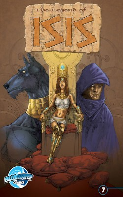 Legend of Isis Vol.1 # 7 by Darren G. Davis from Trajectory, Inc. in Comics category