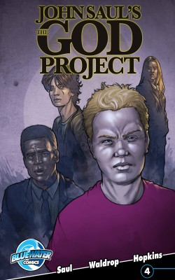 John Saul's The God Project Vol.1 # 4 by John Saul from Trajectory, Inc. in Comics category