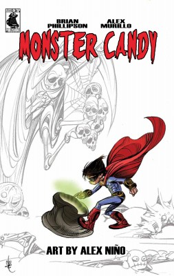 Monster Candy: A Very Alien Halloween by Alex Murillo from Trajectory, Inc. in General Novel category