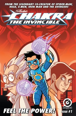 Stan Lee's Chakra The Invincible  #1 by Aditya Bidikar from Trajectory, Inc. in Comics category