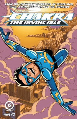 Stan Lee's Chakra The Invincible  #2 by Aditya Bidikar from Trajectory, Inc. in Comics category