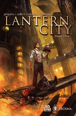 Lantern City #1 by Paul Jenkins from Trajectory, Inc. in Comics category