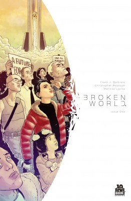Broken World #1 (of 4) by Frank J. Barbiere from Trajectory, Inc. in Comics category