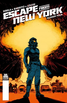 Escape from New York #4 by Christopher Sebela from Trajectory, Inc. in Comics category