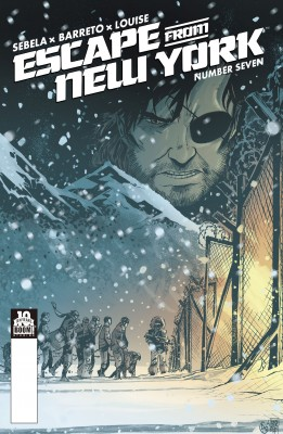 Escape from New York #7 by Christopher Sebela from Trajectory, Inc. in Comics category