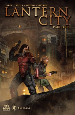 Lantern City #4 by Mairghread Scott from Trajectory, Inc. in General Novel category
