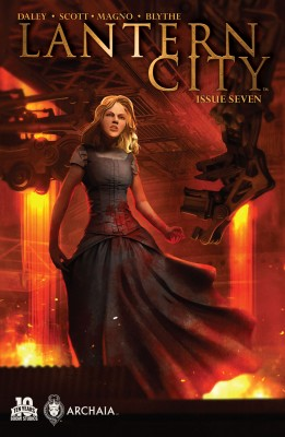 Lantern City #7 by Mairghread Scott from Trajectory, Inc. in General Novel category