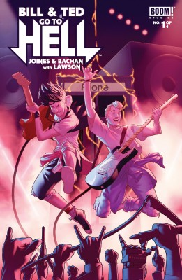 Bill & Ted Go To Hell #1 by Brian Joines from Trajectory, Inc. in General Novel category