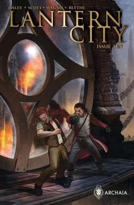 Lantern City #10 by Mairghread Scott from  in  category