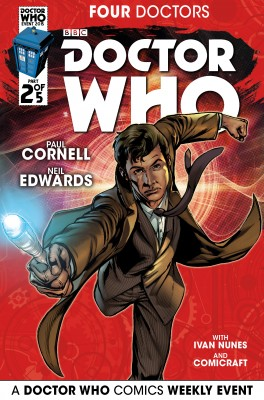 Doctor Who: 2015 Event: Four Doctors #2 by Paul Cornell from Trajectory, Inc. in Comics category