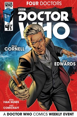 Doctor Who: 2015 Event: Four Doctors #4 by Paul Cornell from Trajectory, Inc. in Comics category