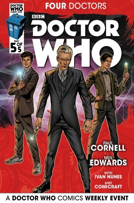 Doctor Who: 2015 Event: Four Doctors #5 by Paul Cornell from Trajectory, Inc. in Comics category