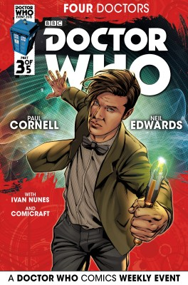 Doctor Who: 2015 Event: Four Doctors #3 by Paul Cornell from Trajectory, Inc. in Comics category