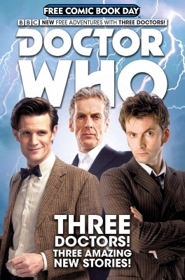 Doctor Who: Free Comic Book Day by Rob Williams from Trajectory, Inc. in Comics category