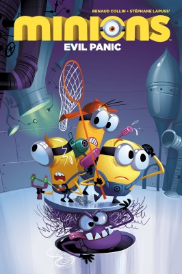Minions: Evil Panic by Didier Ah-Koon from Trajectory, Inc. in Teen Novel category