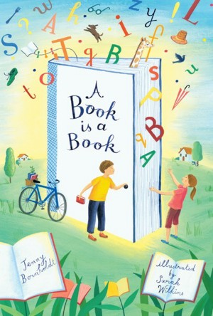 A Book is a Book by Jenny Bornholdt from Trajectory, Inc. in Teen Novel category