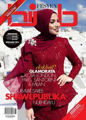 Hijab Fesyen Jun 2017 by UTUSAN KARYA SDN BHD from UTUSAN KARYA SDN BHD in  category