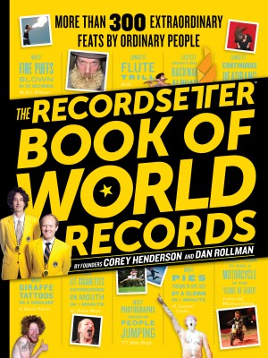 The RecordSetter Book of World Records by Dan Rollman from Vearsa in Language & Dictionary category