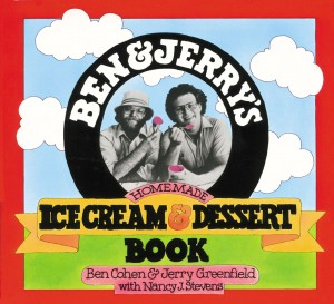 Ben & Jerry's Homemade Ice Cream & Dessert Book by Nancy Stevens from Vearsa in Recipe & Cooking category
