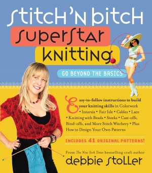 Stitch 'n Bitch Superstar Knitting by Debbie Stoller from Vearsa in Sports & Hobbies category