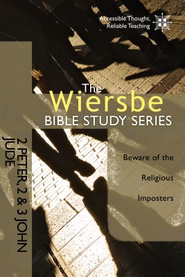 The Wiersbe Bible Study Series: 2 Peter, 2&3 John, Jude by Warren W. Wiersbe from Vearsa in Religion category