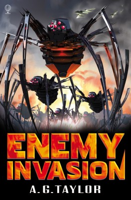 Enemy Invasion by A.G. Taylor from Vearsa in Teen Novel category