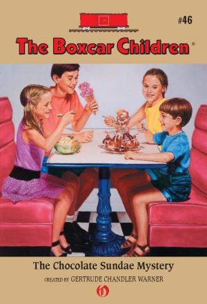 The Chocolate Sundae Mystery by Gertrude Chandler Warner from Vearsa in Teen Novel category