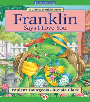 Franklin Says I Love You by Brenda Clark from Vearsa in Teen Novel category