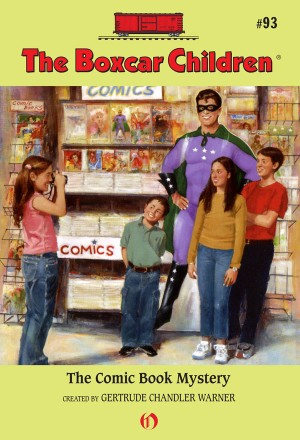 The Comic Book Mystery by Gertrude Chandler Warner from Vearsa in Teen Novel category