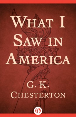 What I Saw in America by G. K. Chesterton from Vearsa in Travel category