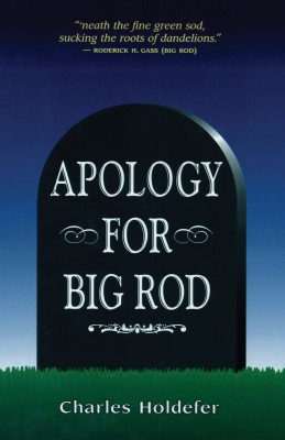 Apology for Big Rod by Charles Holdefer from Vearsa in General Novel category