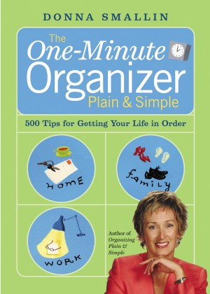 The One-Minute Organizer Plain & Simple by Donna Smallin from Vearsa in Religion category