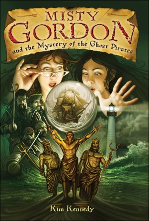 Misty Gordon and the Mystery of the Ghost Pirates by Kim Kennedy from Vearsa in Teen Novel category