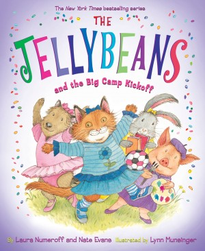 The Jellybeans and the Big Camp Kickoff by Laura Numeroff from Vearsa in Teen Novel category