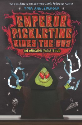Emperor Pickletine Rides the Bus by Tom Angleberger from Vearsa in Teen Novel category