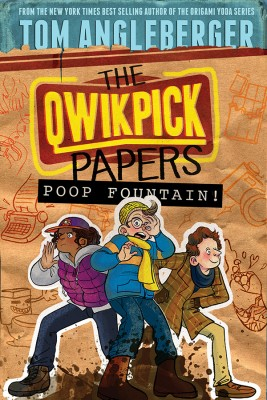 Poop Fountain! by Tom Angleberger from Vearsa in Teen Novel category