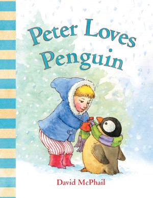 Peter Loves Penguin by David McPhail from Vearsa in Teen Novel category